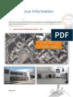Venue Information 2014