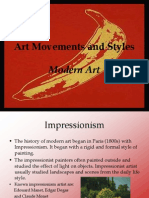 Art Movements and Styles