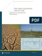 Weather Index Insurance for Agriculture Wb Wii Paper Nov 2011