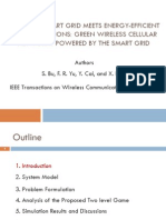 Green Wireless Cellular Networks Powered by the Smart Grid
