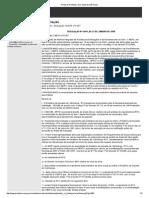 Resolução Nº 0.001, De 22 de Janeiro de 2008