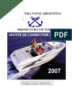 APUNTE DE CONDUCTOR NAUTICO