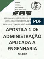 P1 Apostila ADM