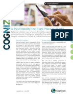 Is PLM Mobility the Right Place to Start?