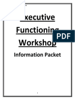 executive functioning workshop- information packet