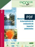 Manual de apoyo para la herramienta de evaluacion de impactos ambientales