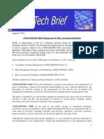 ISO Risk Assessment Management Tech Brief 8-2012