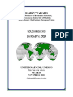 A Ordem Econômica e Ambiental Mundial