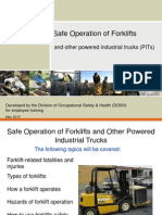 Forklift and Safety