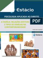 A Família - Relações Afetivas e Tipos de Famílias Na Contemporaneidade