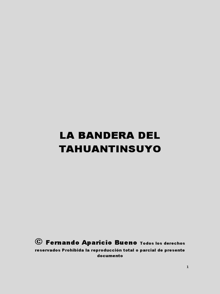 Bandera Del Tawantinsuyo