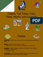 fairytales myths legends tall tales pp
