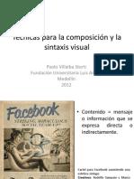 Técnicas Para La Composición y La Sintaxis Visual TEORIA IMAGEN