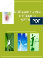 Gestión Ambiental Para El Desarrollo Sostenible