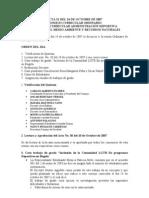 ACTA 031 DEL 24 DE OCTUBRE DE 2007