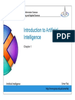 Lecture#1-Introduction to AI