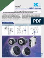 Harmonic Hpf Series Specsheet
