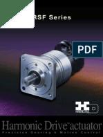 Harmonic Rsf Series Specsheet