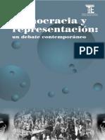Democracia y Representacion Un Debate Contemporaneo