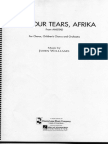 Dry Your Tears, Arfika