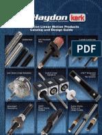 Haydon Kerk Linear Rails Guides Splines Catalog