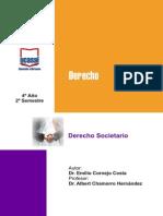 4o Ano - Derecho Societario Ugs, Led, Oran, Tart, San Pedro, Metan, Bblanca