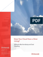 Does Your Cloud Have a Silver Lining