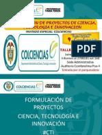 Taller Comfatolima Formulación Proyectos CTI