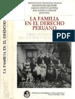 La Familia en el Derecho Peruano - Fernando de Trazegnies.pdf