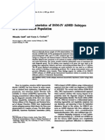 1997 Behavioral Characteristics of DSM-IV ADHD Subtypes Ina Scholl - Gaub, Carlson