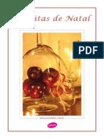 Livro de receitas - Natal