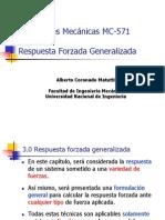 MC 571 Capitulo 3 Respuesta Forzada Generalizada