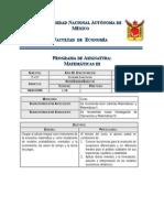 0714 Matematicas III