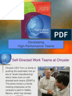 Chap10 Developing High-Performance Teams HSM14