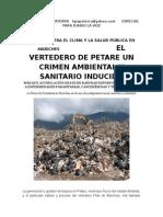 El Vertedero de Petare Un Crimen Ambiental y Sanitario Inducido