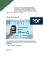 Historia Del iPhone