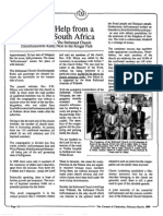 1989 Issue 2 - A Call for Help From a Church in South Africa - Counsel of Chalcedon