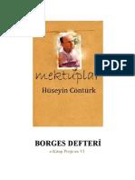 MEKTUPLAR Huseyin Conturk Borges Defteri e Kitap