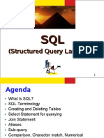 (Structured Query Language)