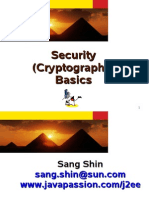 Security (Cryptography) Basics