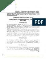 Acuerdo 27-2013 Tabla IVA Enajenacion Vehiculos 2014