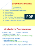 CM1502 Chapter 7 Thermodynamics- Part 2 - First Law