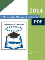 Manual de Usuario Office365