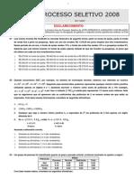 Conhecimentos Gerais UFPR 2008 (Sem Gabarito)