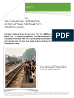 The Subnational Integration of the Vietnam Green Growth Strategy
