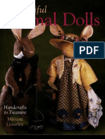[Sewing] Beautiful Animal Dolls