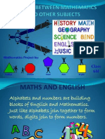 Slideshow Maths and Other Subjects- Aaditya 6M