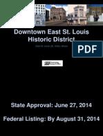Downtown East St. Louis Historic District Presentation