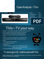 TiVo Consumer Behavior