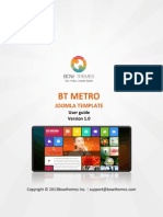 BT Metro User Manual v1.0